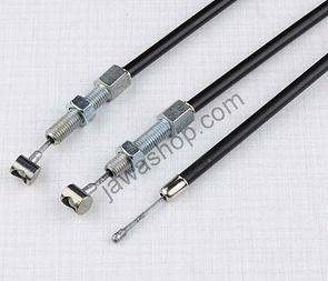 Bowden cable set (CZ 125,150 C) /