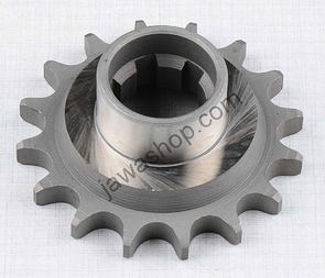 Drive sprocket - 14t with extension (Jawa, CZ Kyvacka) /