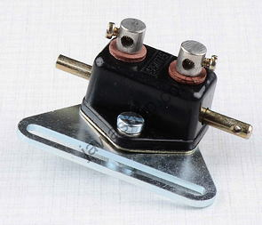 Brake light switch with holder (Jawa, CZ Kyvacka) /