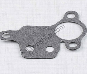 Gasket of oil pump 0,5mm - shaped (Jawa oilmaster) /