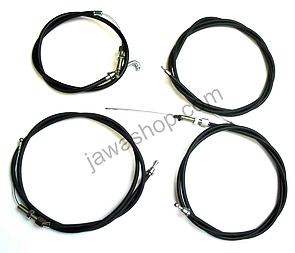 Bowden cable set (Tatran 125) /