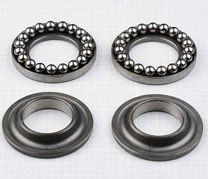 Ball bearing steering set complete / Jawa, CZ Kyvacka