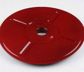 Cover of rear chain wheel - red (Jawa 250, 350 Kyvacka) /