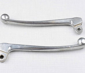 Brake and clutch lever set with ball-end (Jawa 634) /