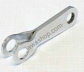 Brake arm lever 90mm (Cr) (Jawa, CZ Panelka) /