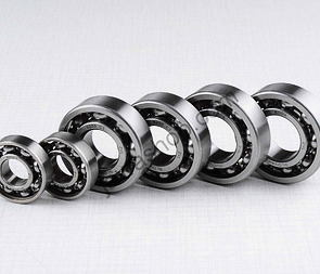 Ball bearing of engine set - 6pcs (Babetta 207) /