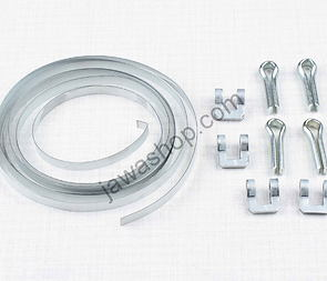 Clamp of front fork rubber sealing - set (Jawa 50 Pionyr) /