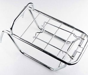 Rear carrier - chrome (Babetta 210) /